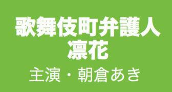 歌舞伎町弁護人凛花/春ドラマ2019