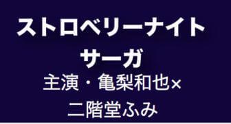 ストロベリーナイトサーガ/春ドラマ2019