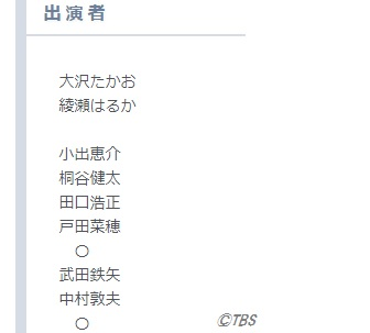 JIN-仁-番組表